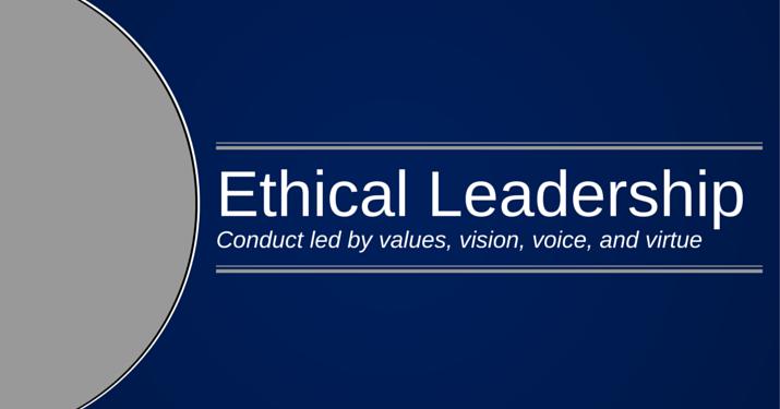 The Basics Of Ethical Leadership Villanova University