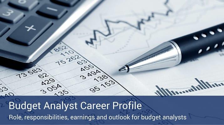 Budget Analyst Career Profile Villanova