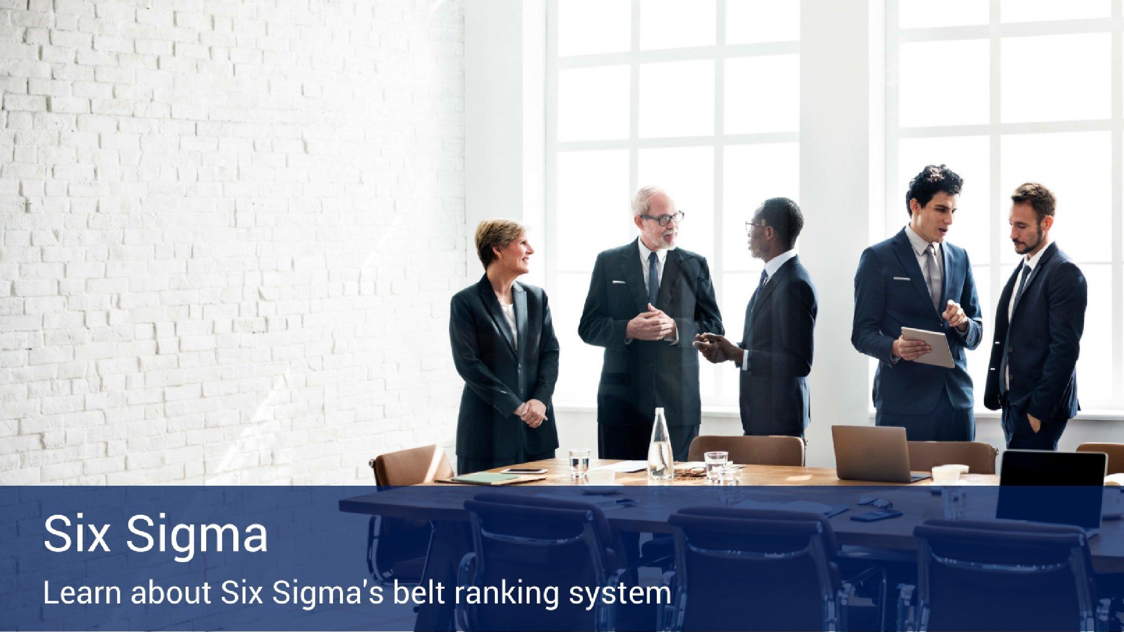 Six Sigma Belt Rankings Villanova Online Degrees Certificates