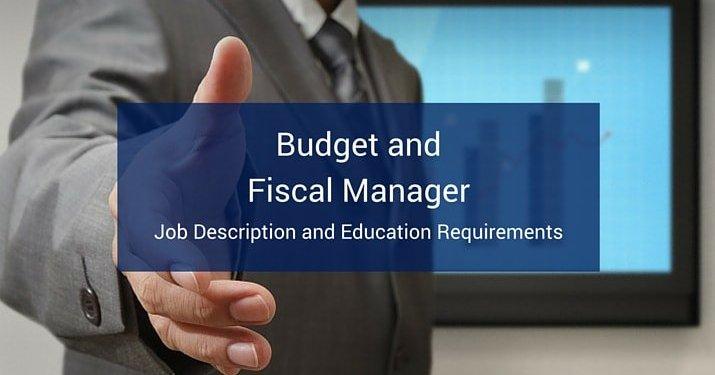 Budget And Fiscal Manager Career Profile Villanova